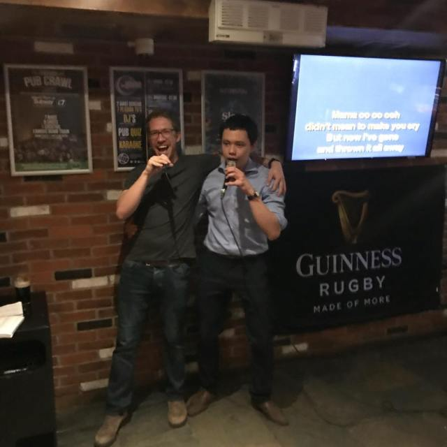 Karaoke night every Thursday 10pm at the Globe Bar!!!