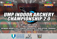 UMP INDOOR ARCHERY 2018