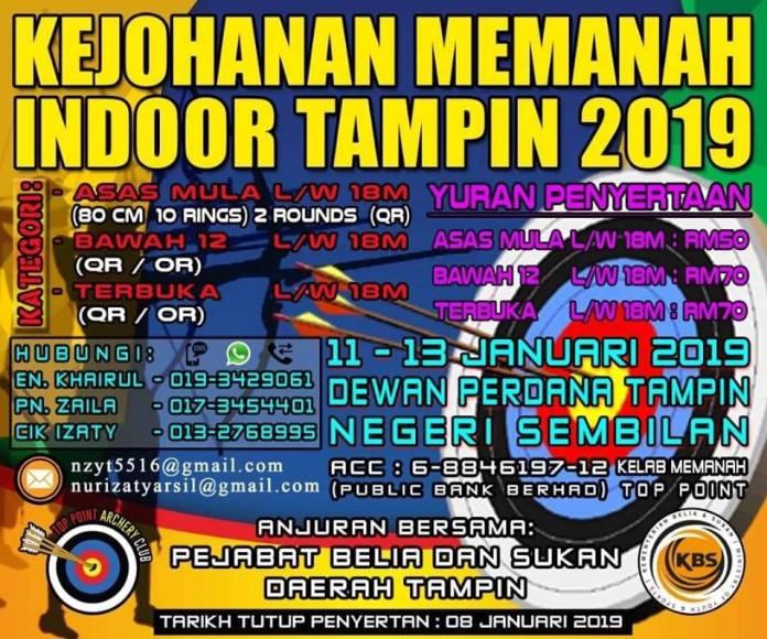 tampin indoor open 2019