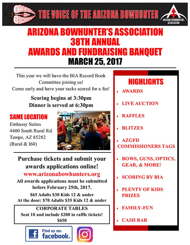 ABA 38th Annual Awards and Fundraising Banquet