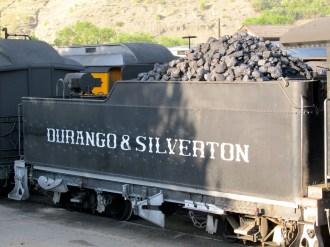Lots o' coal to fuel it!
