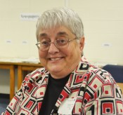 Sister Rita Krusell joined the School Sisters of Notre Dame after she graduated in 1968. Krusell was a secondary education major with a minor in history and biology; she now teaches Head Start.