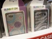 iPhone cases with a bit of bling will sparkle under the tree this season.