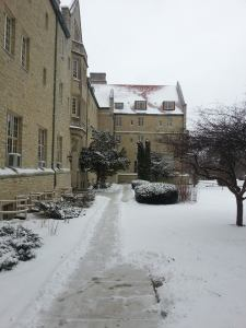 caroline hall in winter