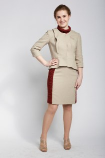 Sara Sybesma in Garment 3