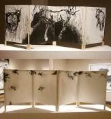 Herd: Paddock - woodcut