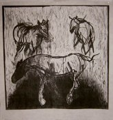 Naturalized Grazer 1 - woodcut