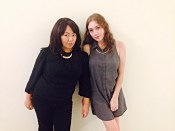Designers Pa Kou Vang (left) Kelsey Garfoot (right)