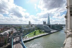 Exterior CGI of View C at One Tower Bridge Development