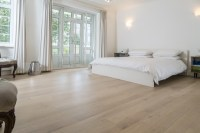 Bayswater property bedroom oak floor treated with 1 Bona White primer then Bona Traffic Natural