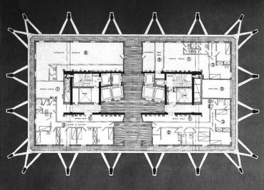 General Plan Velasca Tower