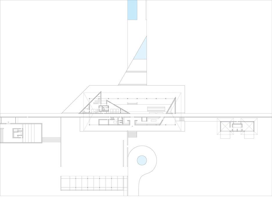 Casa Wabi Floor Plan | © Tadao Ando