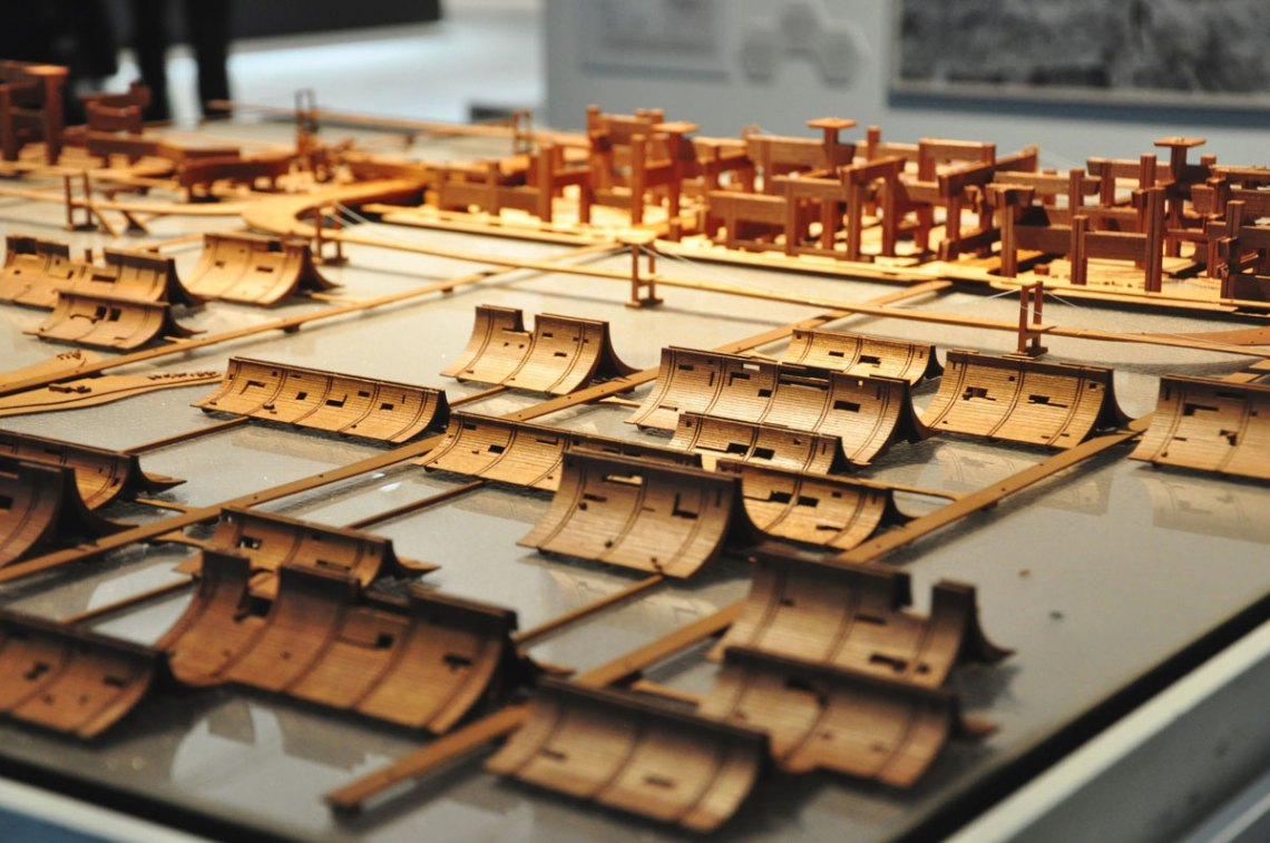 Model of the city of Tokyo by Kenzo Tange