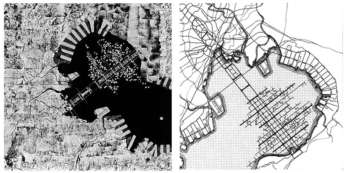 The urban plan for Tokyo 1960