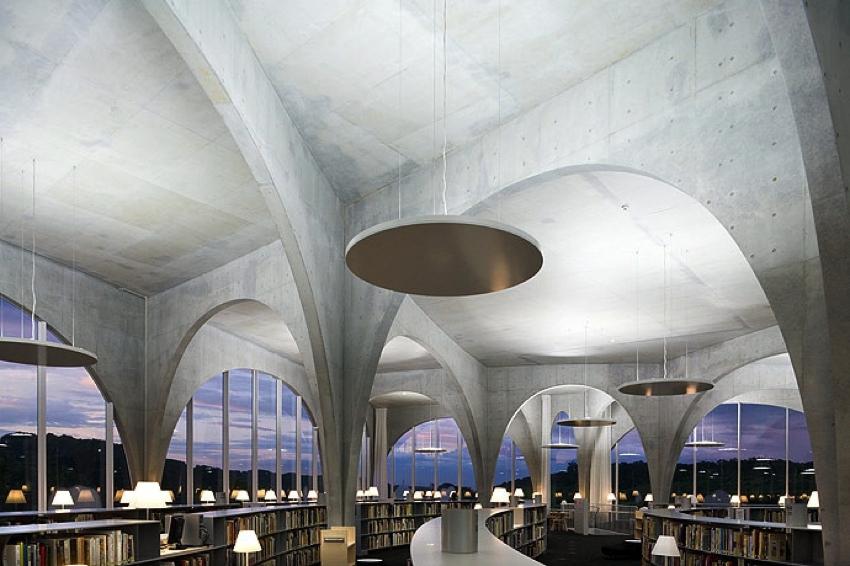 Toyo Ito Tama Art University library