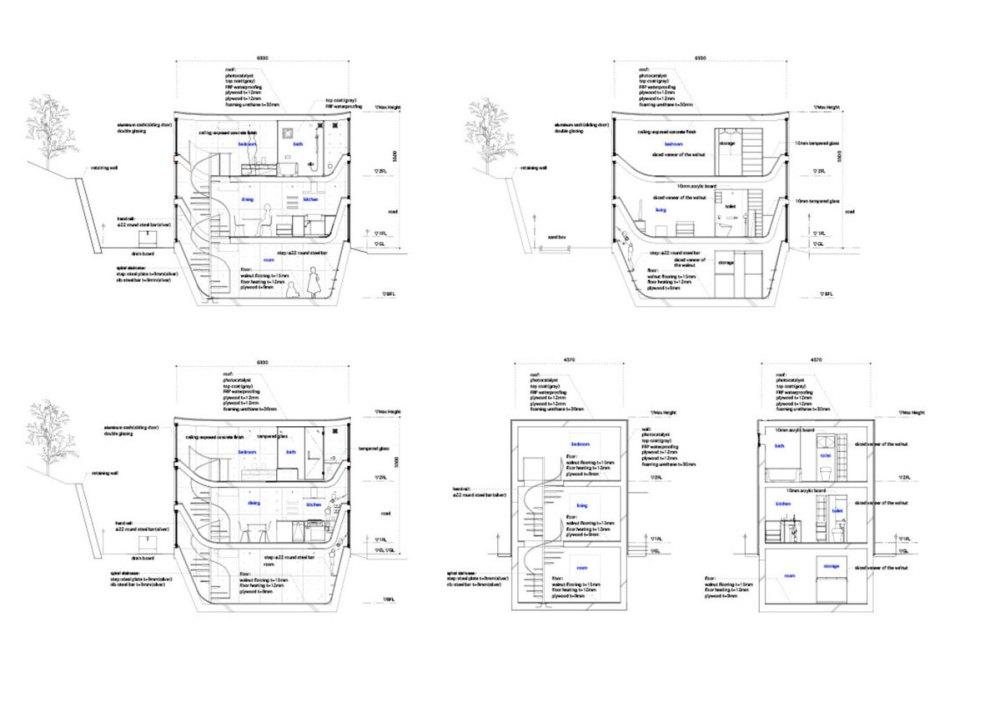 House in Byoubugaura / Takeshi Hosaka Architects