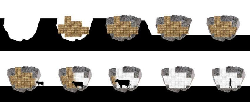 Construction Process - The Truffle house / Ensamble Estudio