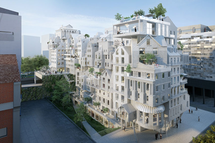 Housing project for Paris / Marin + Trottin