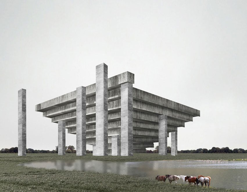 Palace of Failed Optimism / Wai Think Tank