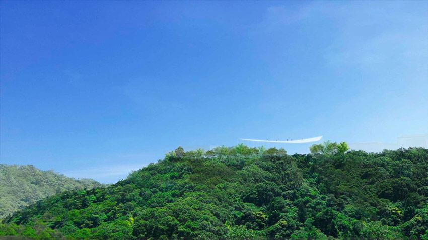 Mountaintop Facility in Yashima / Sou Fujimoto