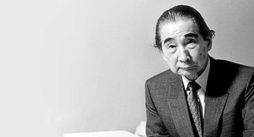 Kenzo Tange Portrait