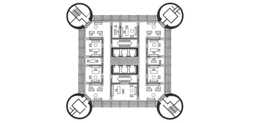 Knights of Columbus Floor Plan by KRJDA