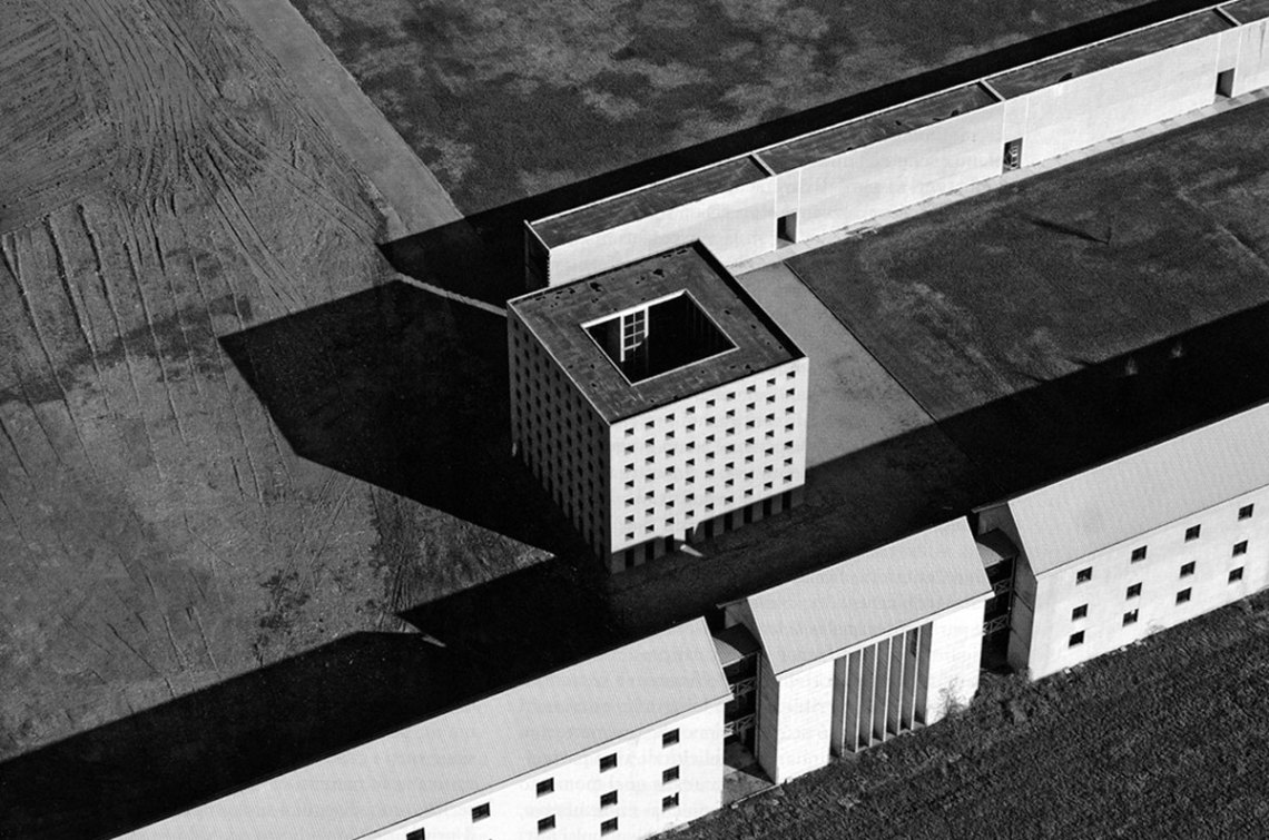Aerial View of the Cemetery / Aldo Rossi