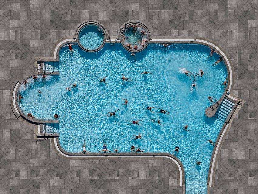 10 Amazing Aerial Swimming Pools Photographs / Stephan Zirwes