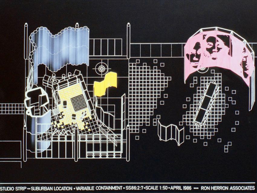 Studio Strip / Ron Herron (Archigram)