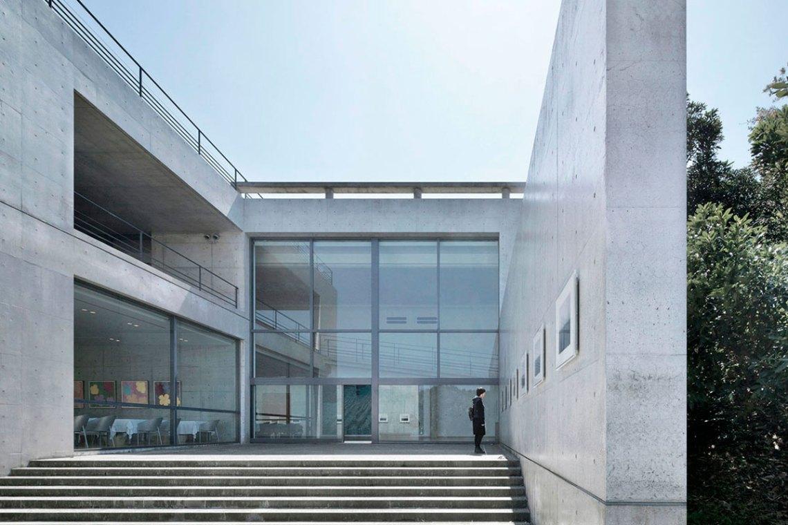 Entrance - Benesse House Museum / Tadao Ando