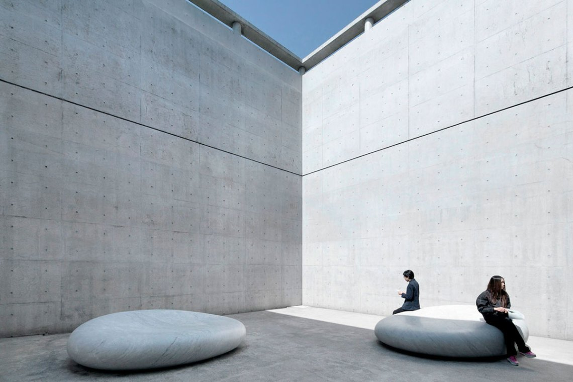 Courtyard - Benesse House Museum / Tadao Ando
