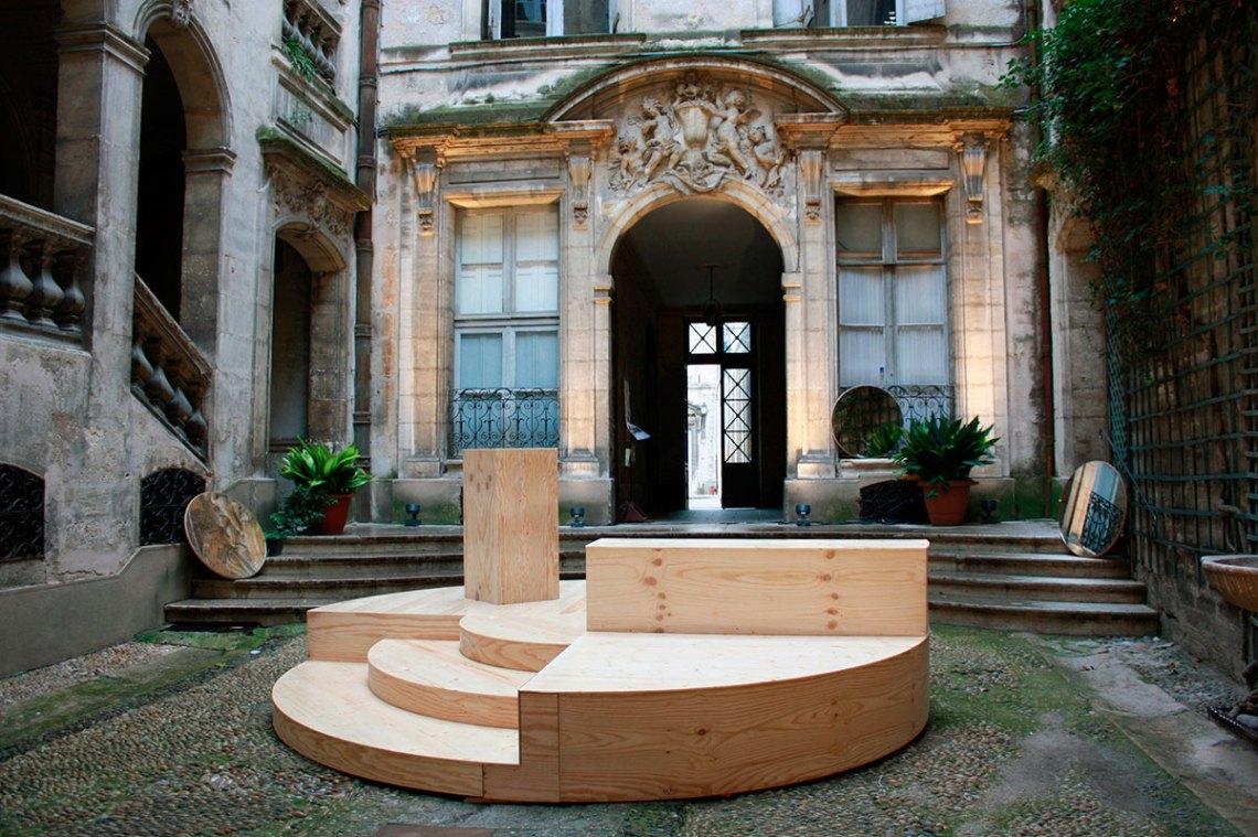 Festival des Architectures Vives Installation / Pseudonyme Architects