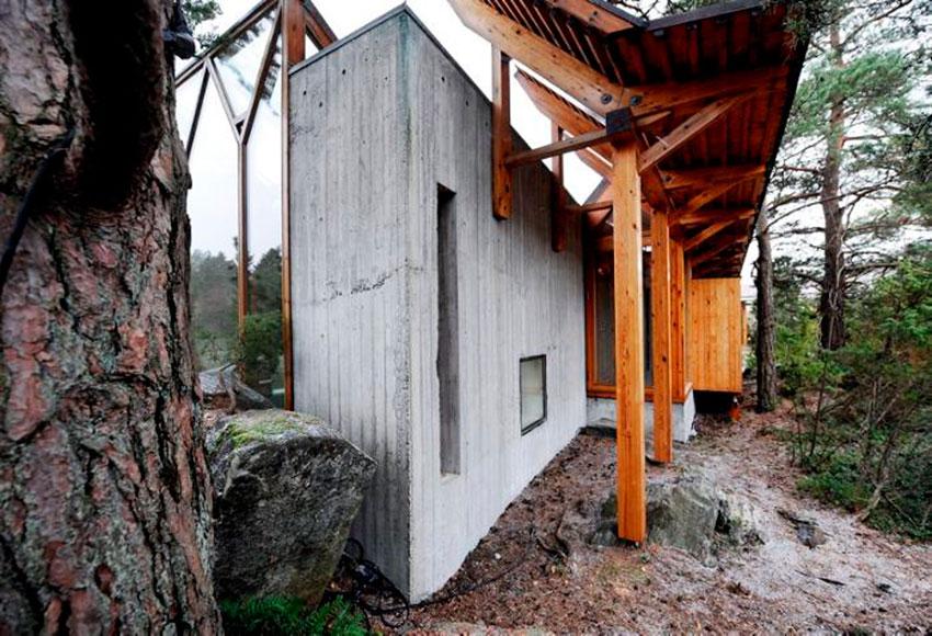 Busk House by Sverre Fehn