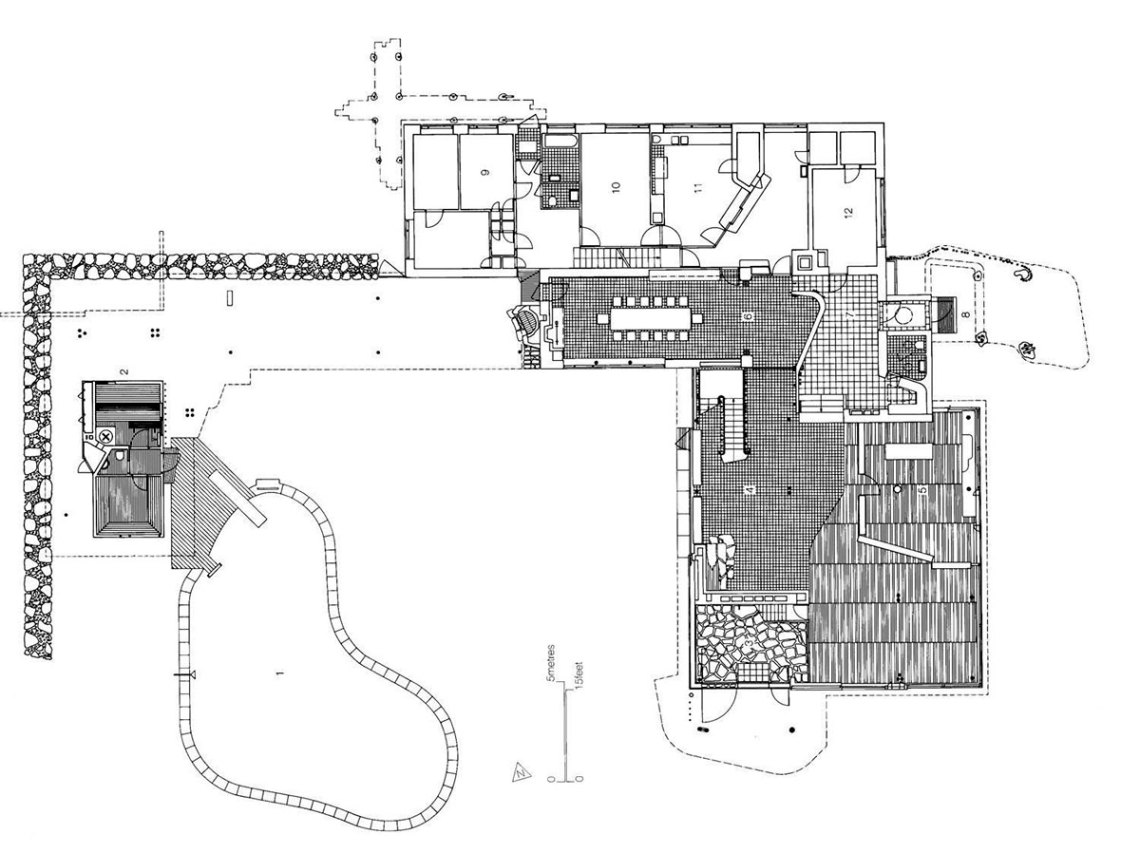Floor plan Villa Mairea Plans