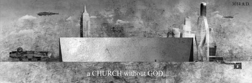 A church without God / Espacio Cero