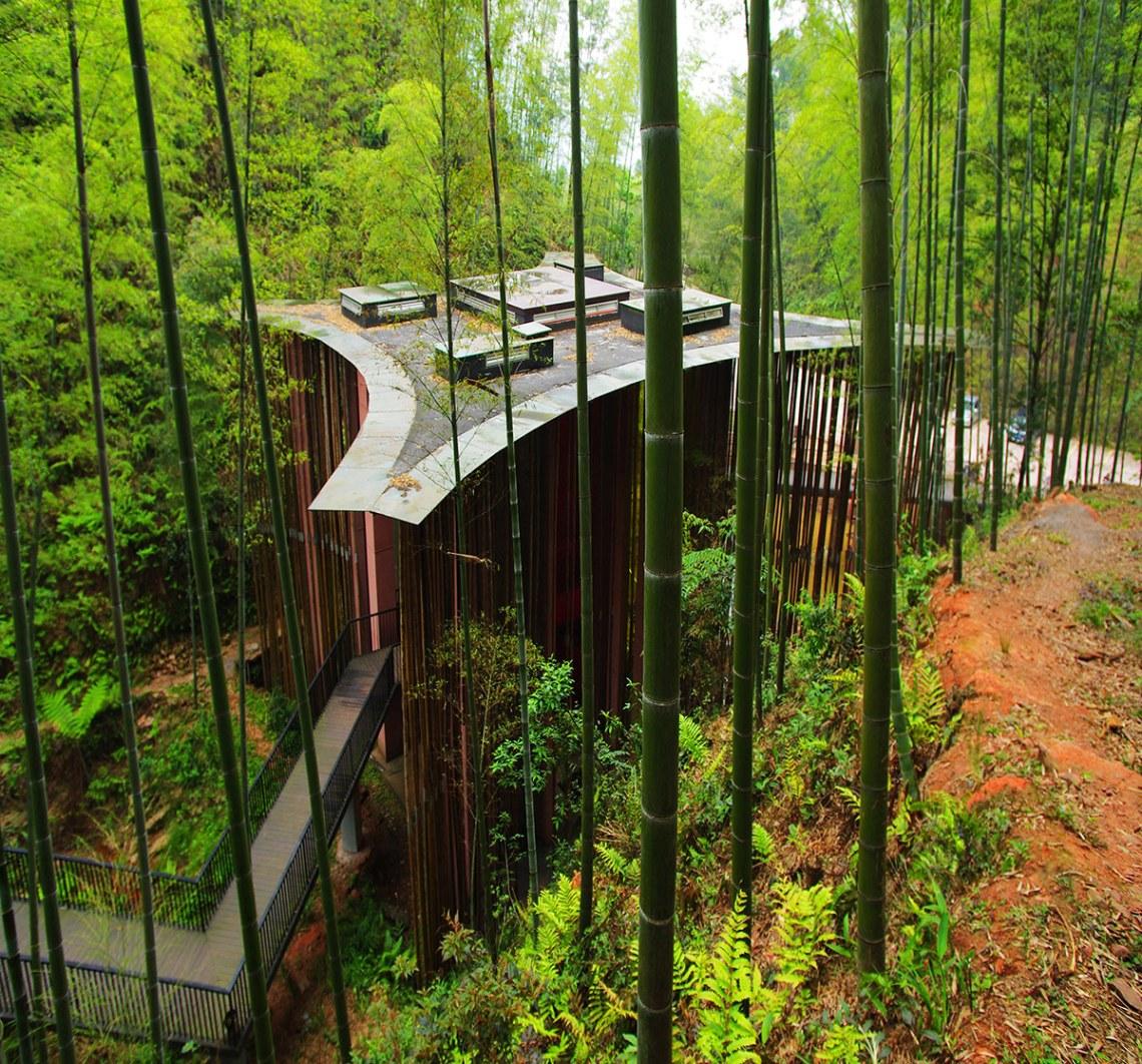 Bamboo Gateway / West-line-studio