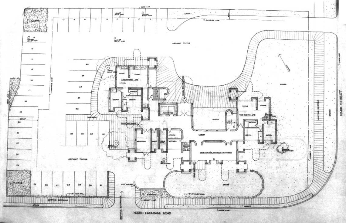 Floor ground plan