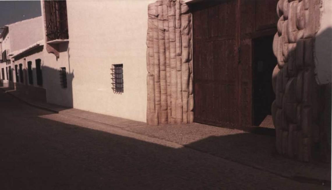 Fisac House Entrance door Miguel Fisac