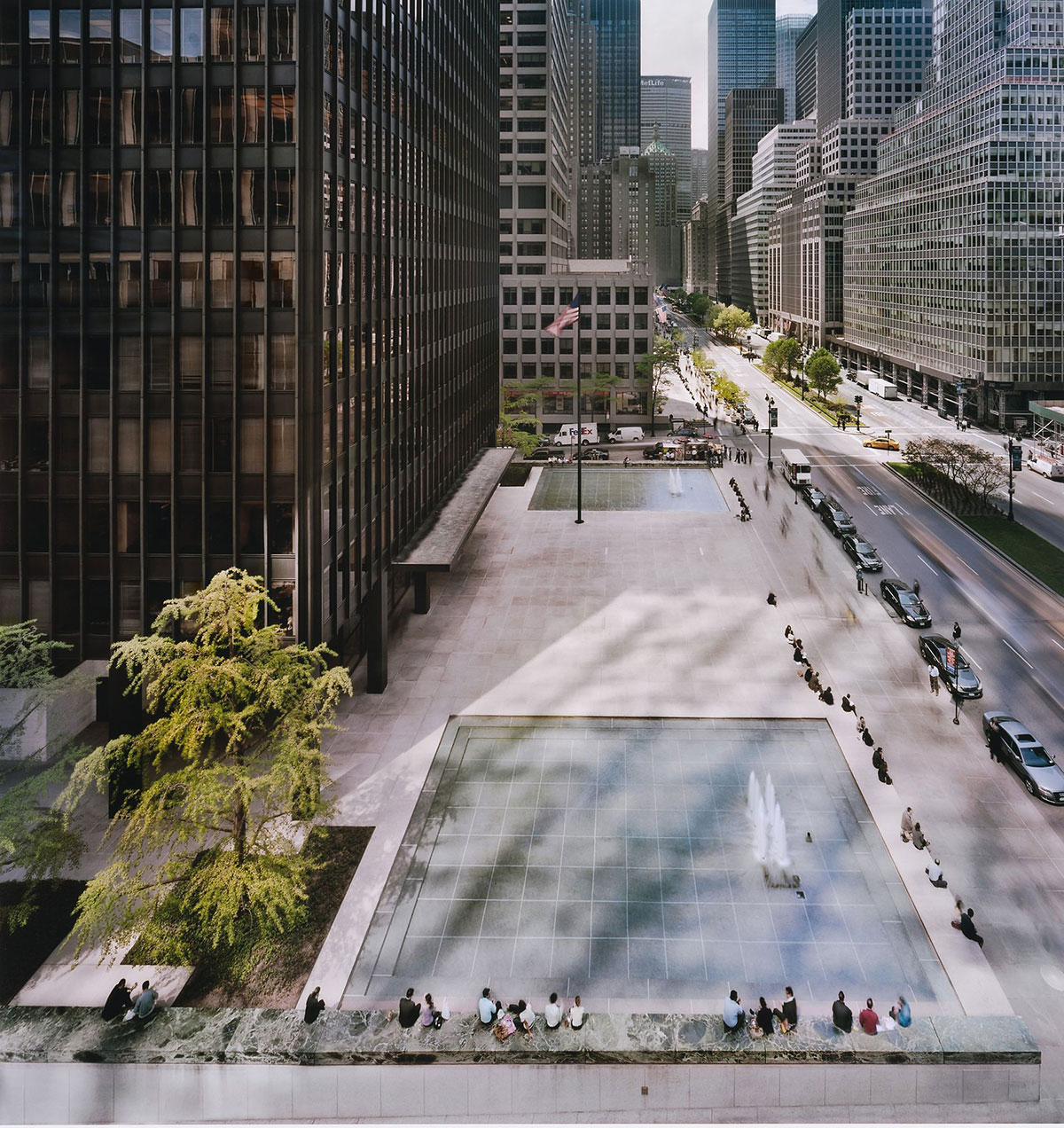 Seagram Building In New York By Mies Van Der Rohe Archeyes
