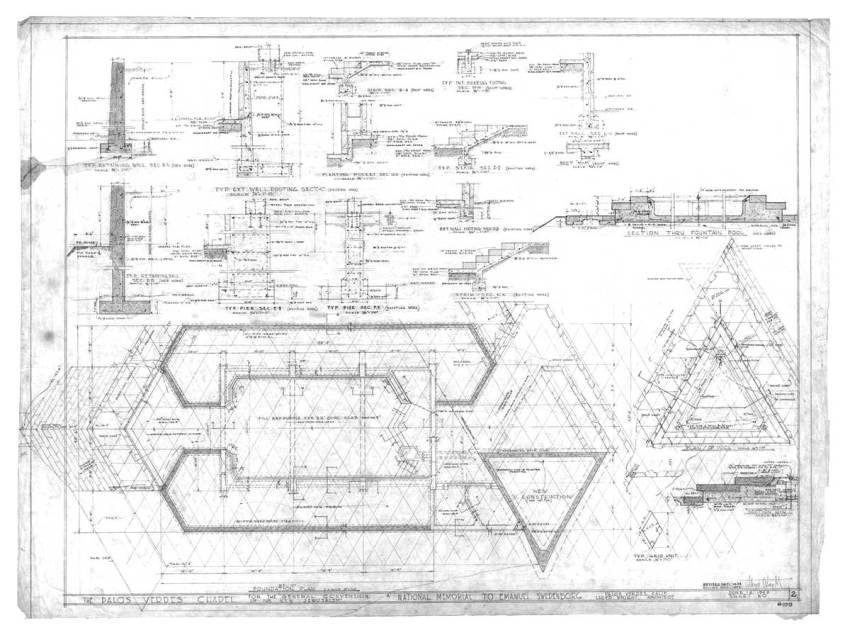 Wayfarers Chapel floor plan