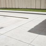 Floor detail of the John Fitzgerald Kennedy Memorial Plaza by Philip Johnson