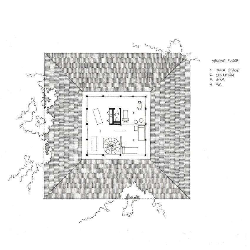 Second Floor Plan | Courtesy of FORM Bureau