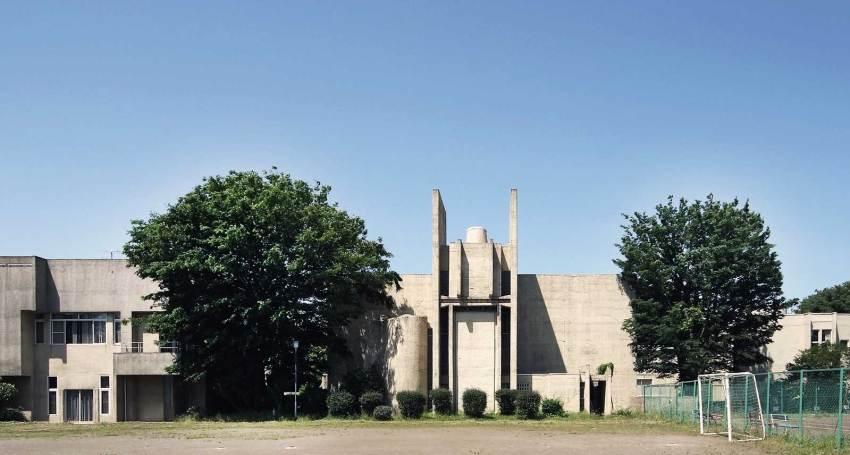 Exterior elevation - Japan Lutheran Theological Seminary