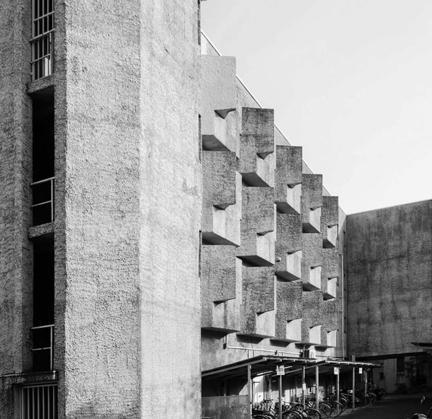 Facade windows - Japan Lutheran Theological Seminary