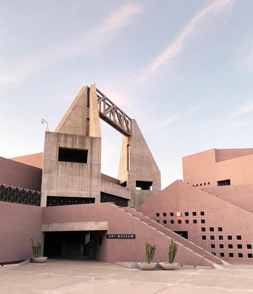 Tower - Nelson Fine Arts Center in Phoenix / Antoine Predock