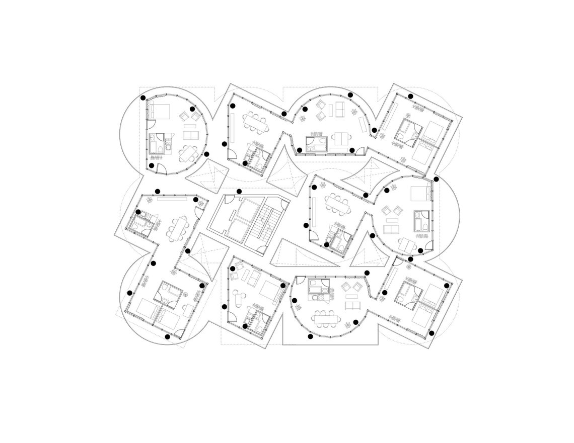 Plans - Table Top Apartments: New York Affordable Housing / Kwong Von Glinow