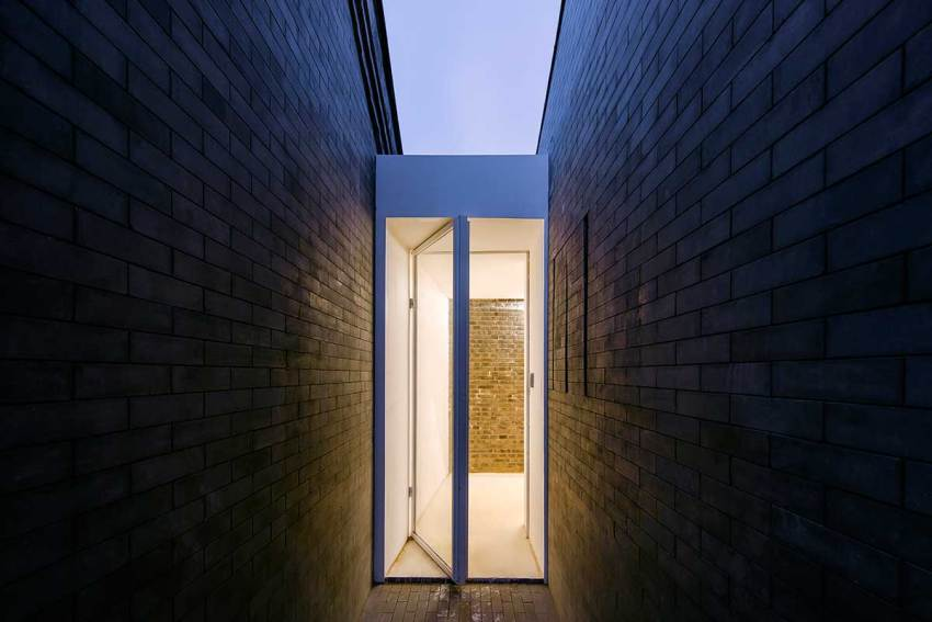 Entrance - Tea House in Hutong / Arch Studio