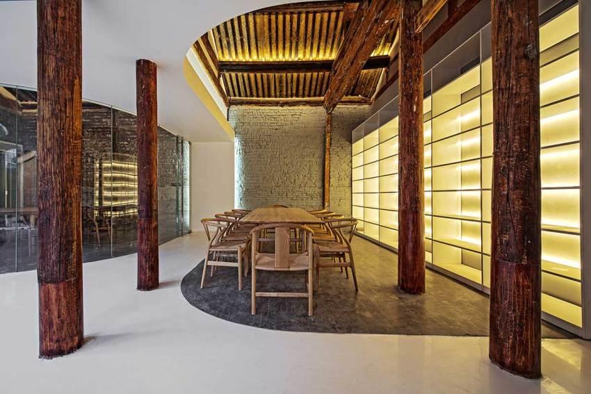 Tea Area - Tea House in Hutong / Arch Studio