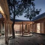 Back courtyard - Qishe Courtyard in Beijing / ARCHSTUDIO