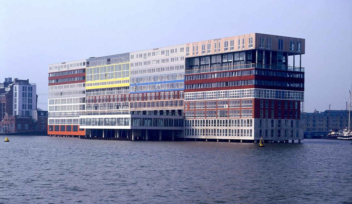 Silodam Housing Block in Amsterdam / MVRDV